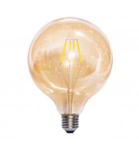 Lampada Led Globo AMBRA 125 Filamenti 4W 220-240V E27
