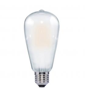 Lampada Led EDISON ST64 MILK filament 6W 220-240V E27
