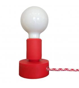 Lampada da Tavolo Tavolotto Rosso