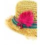 Cappello in paglia Leaf