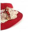 Cappello in paglia Sea Coral