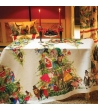 Tovaglia in Lino Magical Tree Natale