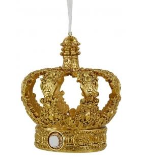 Addobbo corona oro baroccoCm. 12,7 x 12,3 h 14