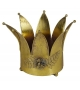 Vaso corona ferro oro grande0 cm. 26,5 h 21