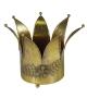 Vaso corona ferro oro piccolo0 cm. 25