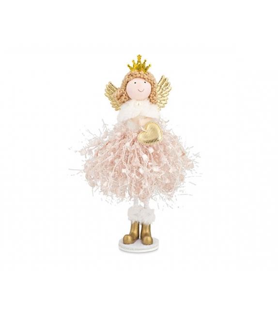 Principessa rosa in piedi