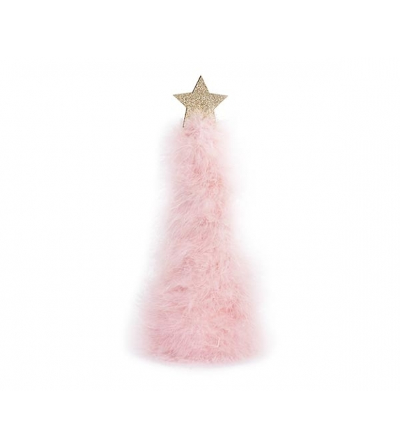 Albero piume rosa