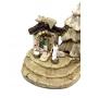Presepe Natività in terracotta h 6,5cm