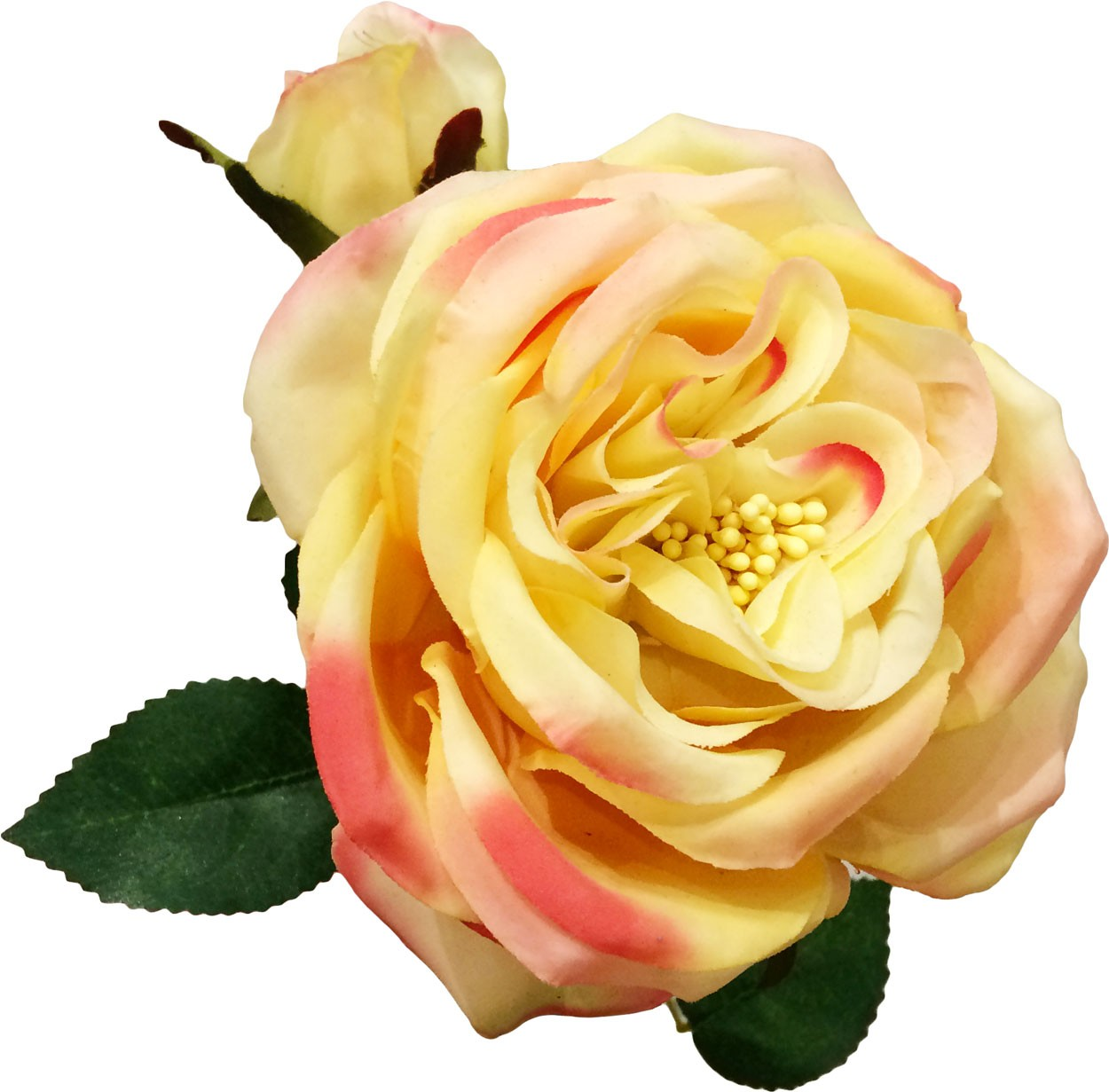 Fiori Giallo Ocra.Rosa Artificiale Giallo Ocra H60 Cm Bekreative