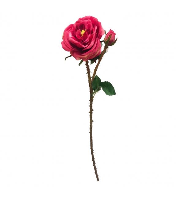 Rosa fiore artificiale Fucsia