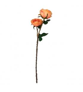 Rosa fiore artificiale Pesca