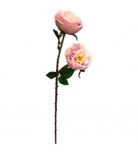 Rosa fiore artificiale rosa