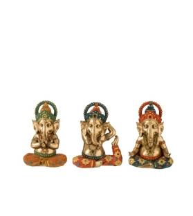 Statua Ganesh Yoga - 3 modelli
