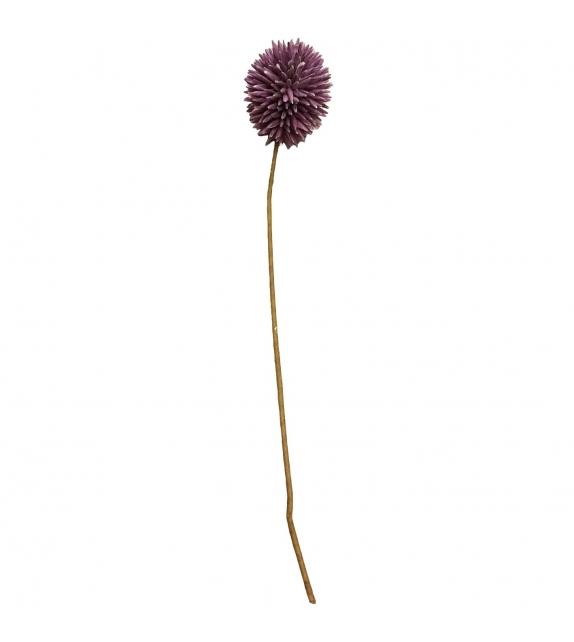 Allium fiore artificiale viola