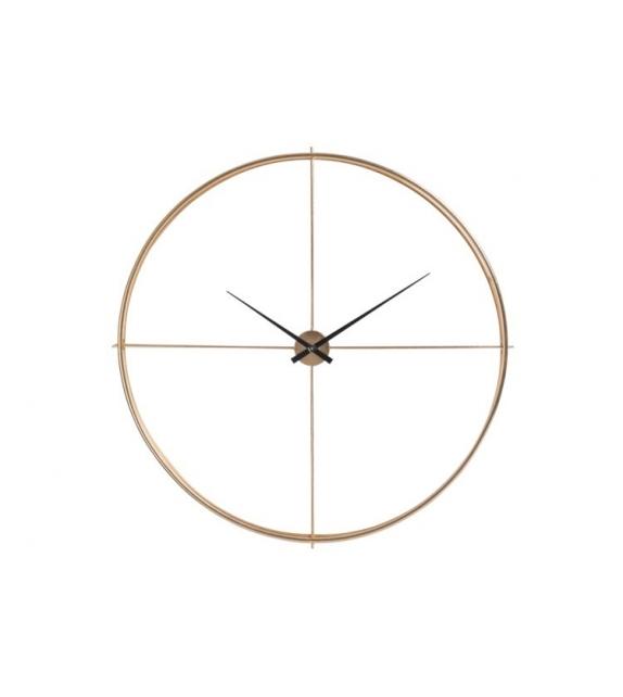 Orologio Silence Design rotondo metallo oro diam. 129 cm
