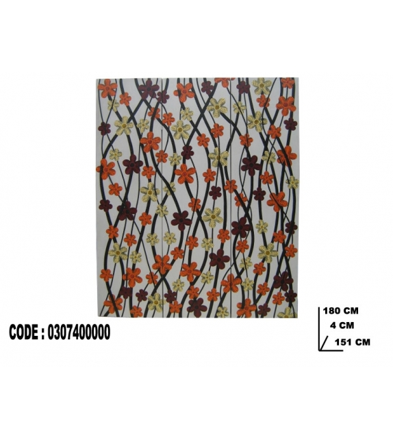 Separe' 3 ante bunga cm 150x180 ( 1 lato dipinto )