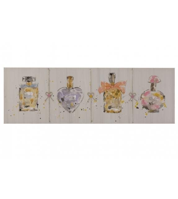 Dipinto su tela parfumes cm 150x3x50