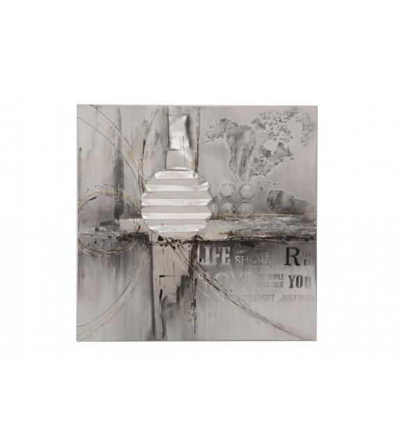 Dipinto su tela abstracty cm 80x3x80