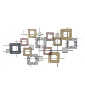 Pannello in ferro cube cm 134,5x7x71