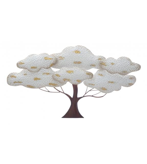 Pannello in ferro albero light cm 90x4,5x49,5