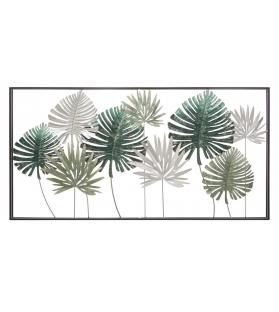 Pannello in ferro leaf ret. Cm 134,5x9,5x68,5
