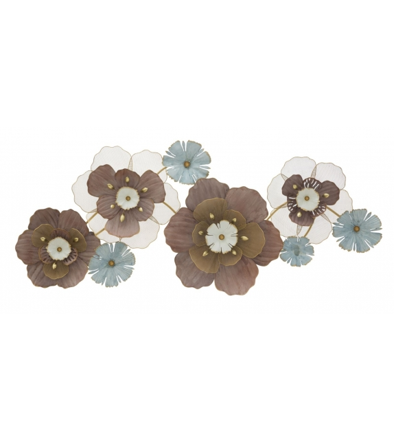 Pannello in ferro flower opas cm 154x12x66