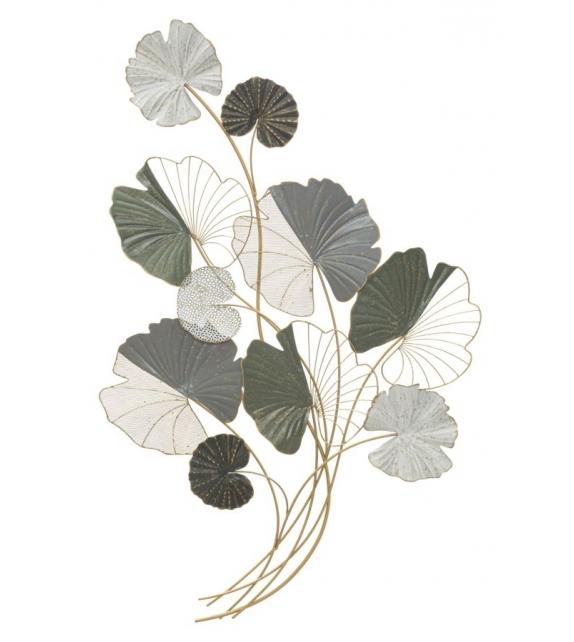 Pannello in ferro lotus cm 70,5x7,5x108,5