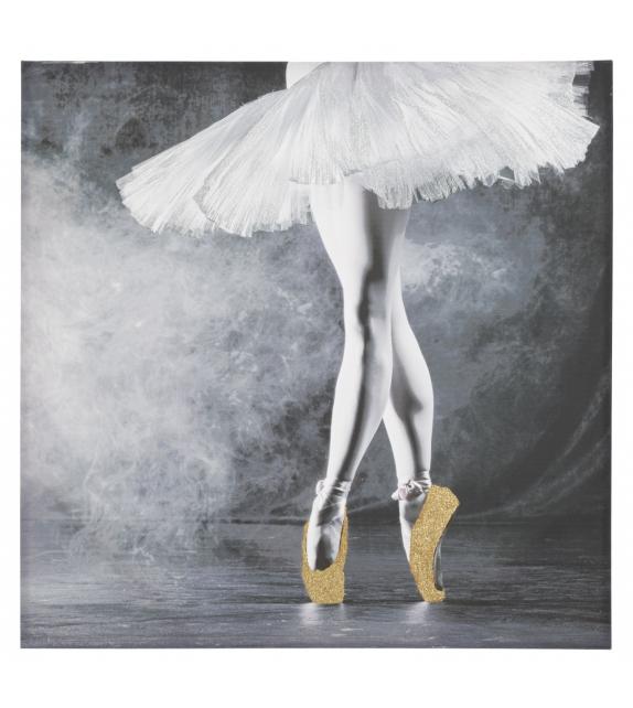 Stampa su tela ballerina cm 100x3,8x100