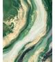 Dipinto su tela greenery cm 80x2,8x100