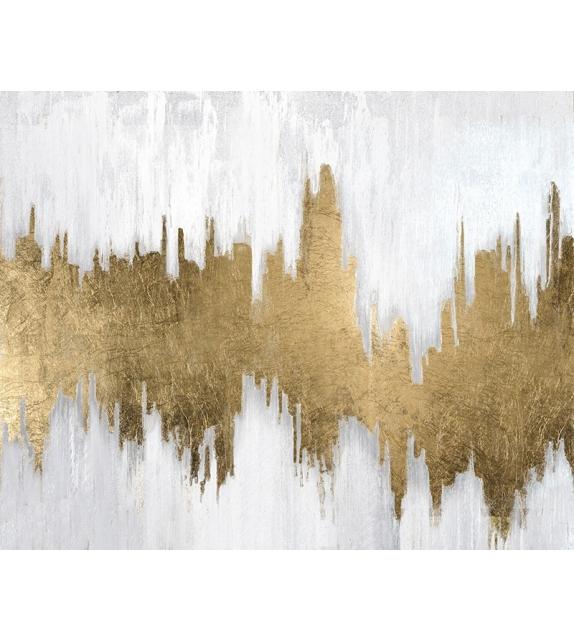 Dipinto su tela goldage cm 100x2,8x80
