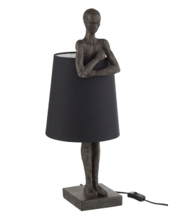 Lampada Homo Model Nero H60 cm