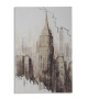 Stampa su tela new york's tower cm 60x3x90