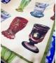 Tovaglia Bicchieri 200x140 cm Tessuto Made in Italy