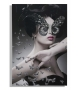 Stampa su tela con applicazioni dark lady cm 80x3,8x120