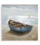 Dipinto su tela barca -b- cm 100x3,7x100