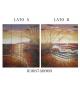 Separe' dipinto su tela sea 4 ante (2 lati dipinti) cm 150x180****