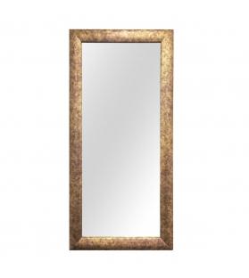 Specchio Lizard cornice rivestita verticale 70x150 cm