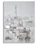 Dipinto su tela paris roofs cm 90x3x120