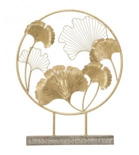 Scultura little leaf cm 50x12,5x64