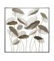 Pannello in ferro lotus square cm 100x8x100