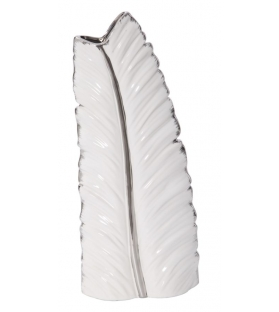 Vaso ceramica leaf cm 18x9x45