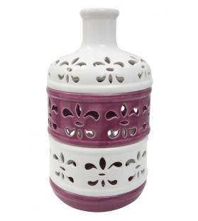 Vaso porcellana lilium alto Ø cm 18,5x33