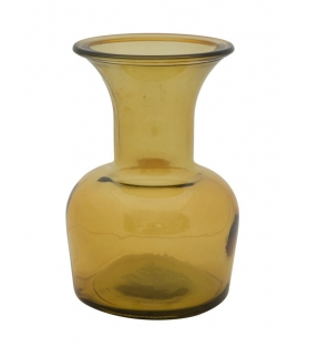 Vaso vetro riciclato cup yellow Ø 14x20 (made in spain)