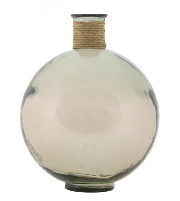 Vaso rope artemis vetro riciclato cm Ø 34x44 (made in spain)
