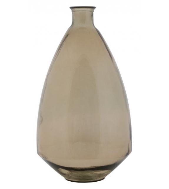 Vaso jarron adobe vetro riciclato cm Ø 33x60 (made in spain)