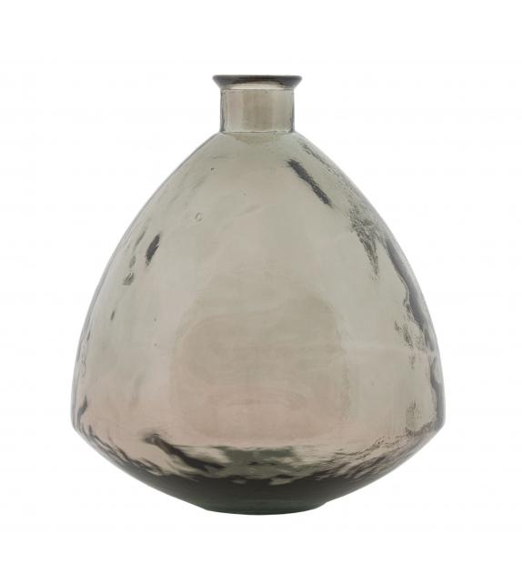 Vaso jarron adobe vetro riciclato cm Ø 38x44 (made in spain)
