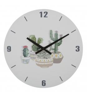 Orologio cactus cm Ø 38x4