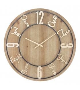 Orologio da muro wood cm Ø 60x5