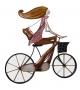 Bicicletta c/specchio cm 54x2x56