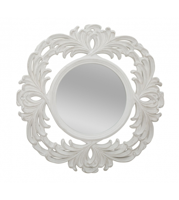Specchio luxembourg cm Ø 100x4,5 (misura specchio cm Ø 50)